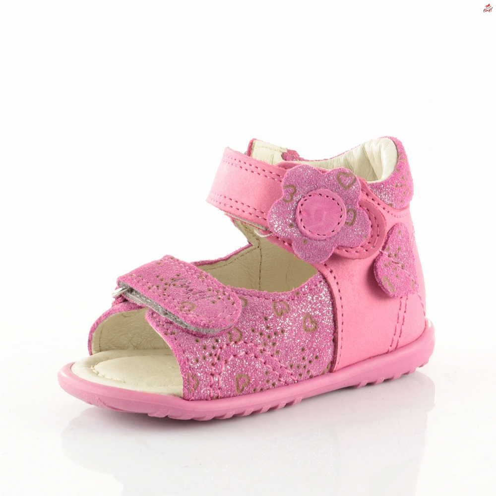 Różówe sandały Emel E 2349