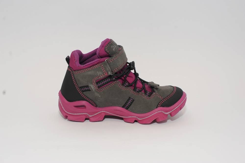 Szaro różowe trapery z membraną Gore-Tex Primigi 66410/00
