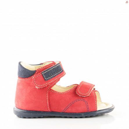 Czerwone sandały Emel E 2424-1