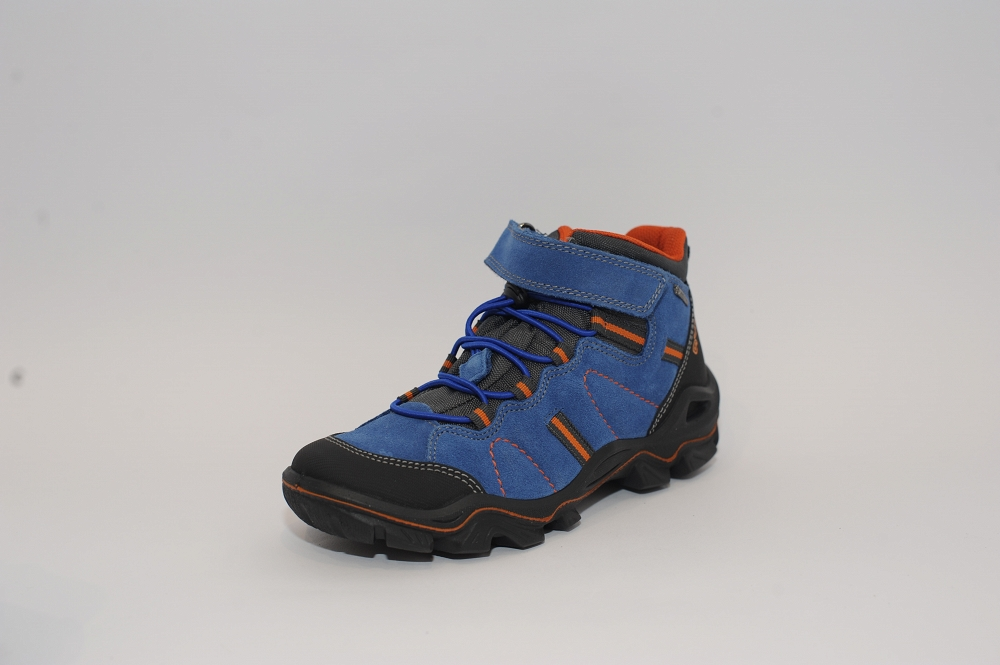 Niebieskie trapery górskie z membrana Gore-Tex Primigi 66412/00