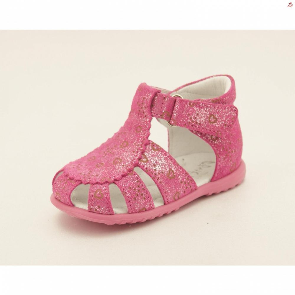 Różowe sandały Emel E 2353-2