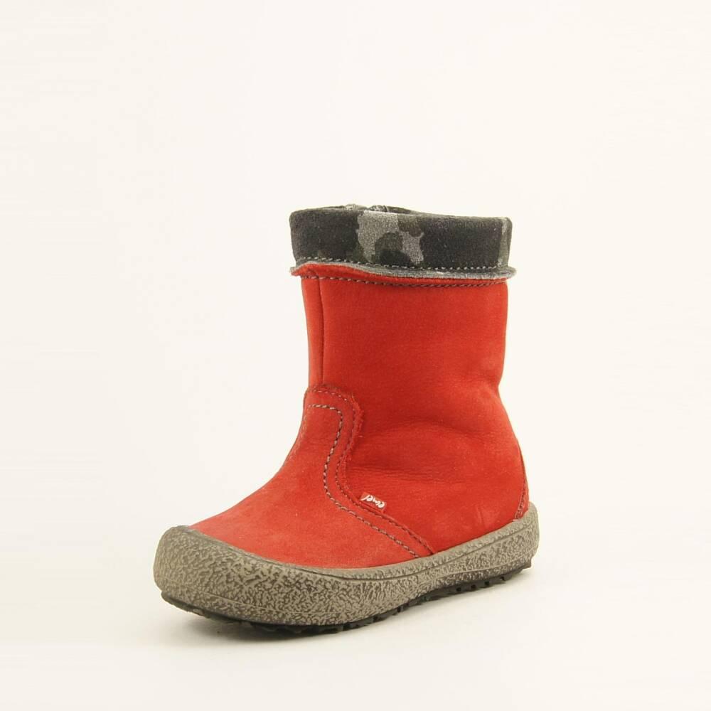 Czerwone zimowe kozaki Emel E 1994A-2
