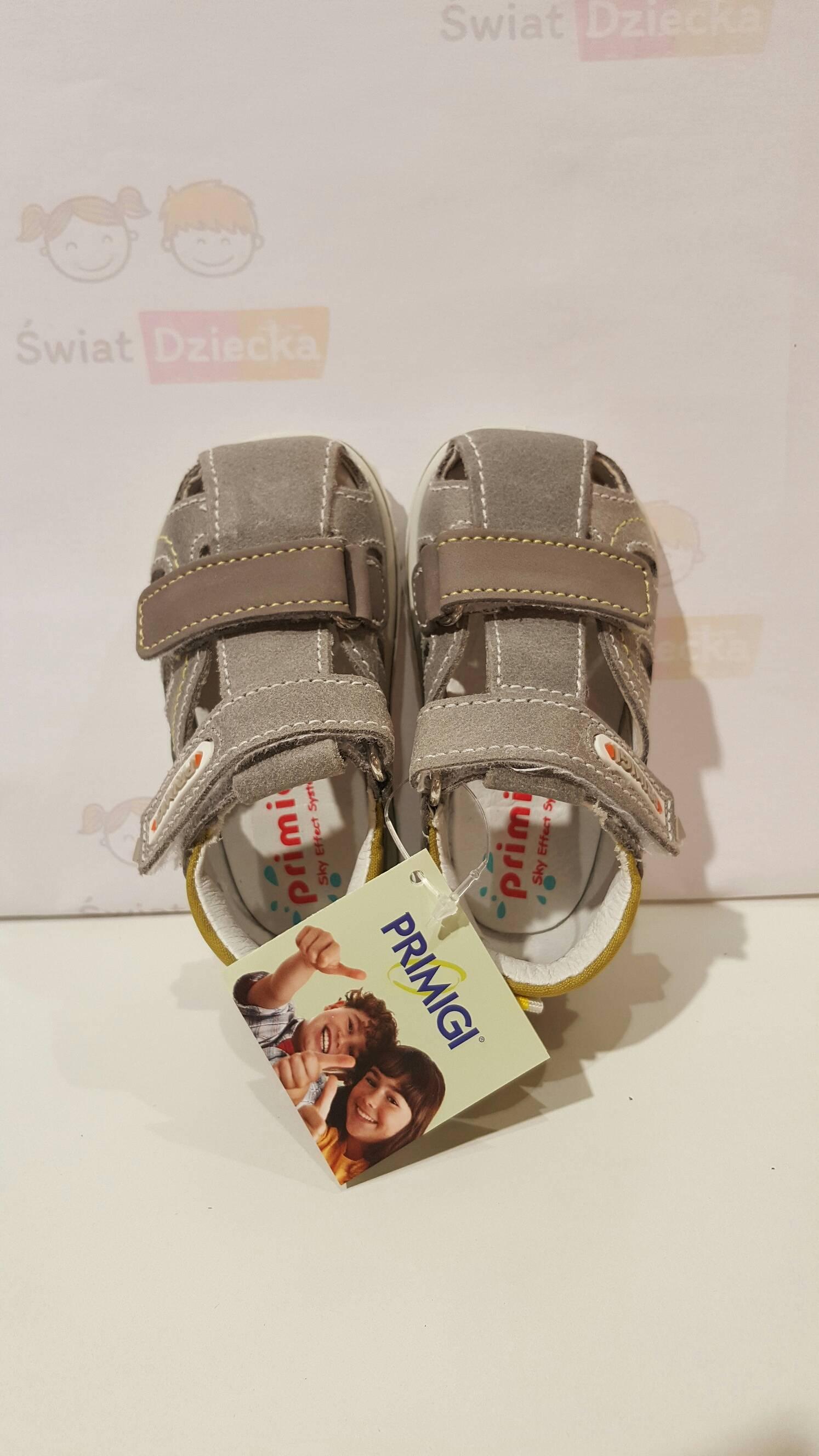 Szare sandały Primigi 5552100