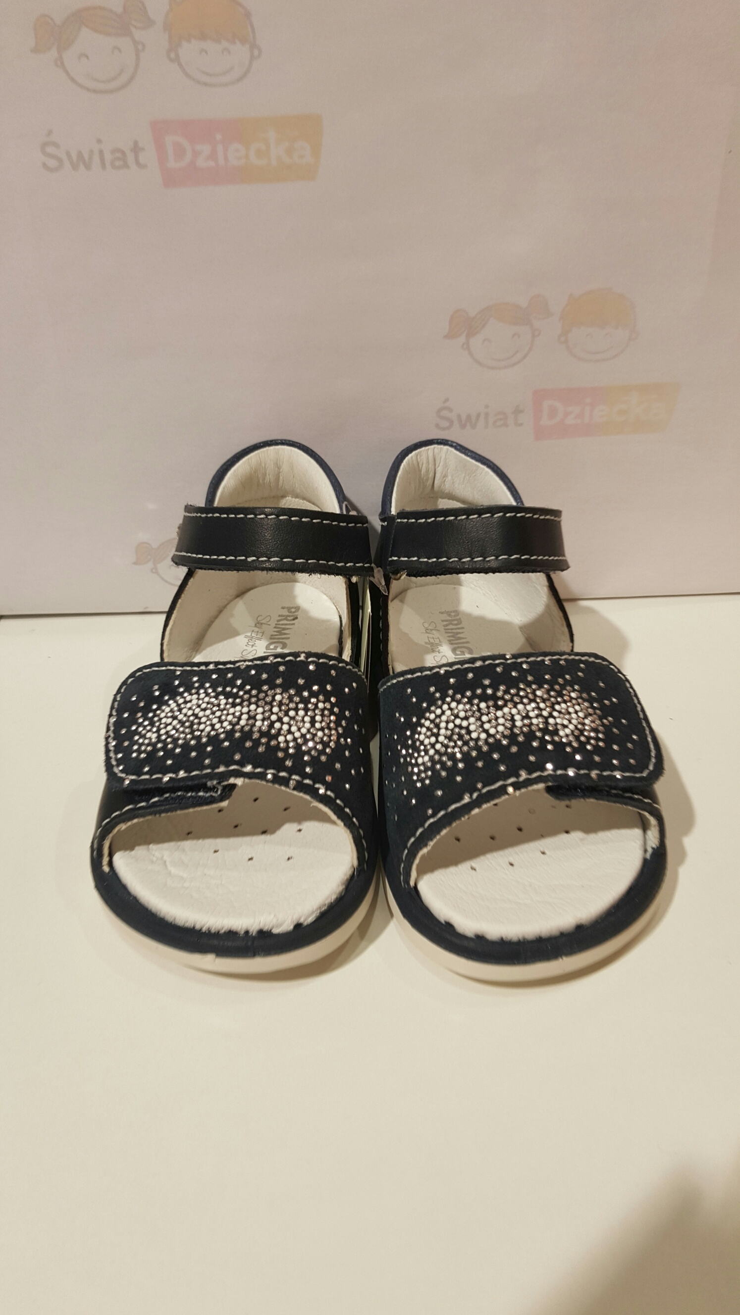 Granatowe sandały Primigi 5560200